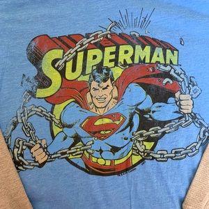 Junk food SUPERMAN tee NWT